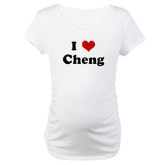 I Love Cheng Shirt