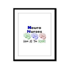 More Nurse Framed Panel Print