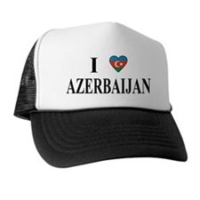 I Love Azerbaijan Trucker Hat