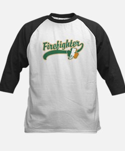 Irish Firefighter Kids Baseball Jersey