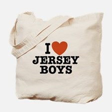 I Love Jersey Boys Tote Bag