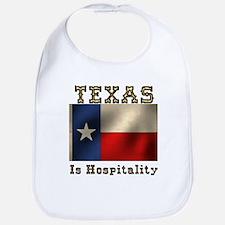 Texas Hospitality Bib