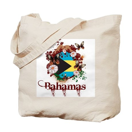 Butterfly Bahamas Tote Bag