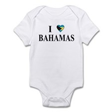 I Love Bahamas Infant Bodysuit