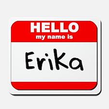 Hello my name is Erika Mousepad