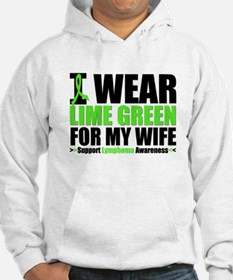 I Wear Lime Green For My Wife Hoodie