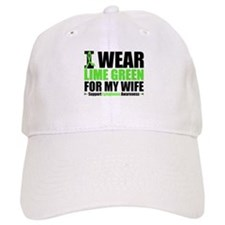 I Wear Lime Green For My Wife Baseball Cap