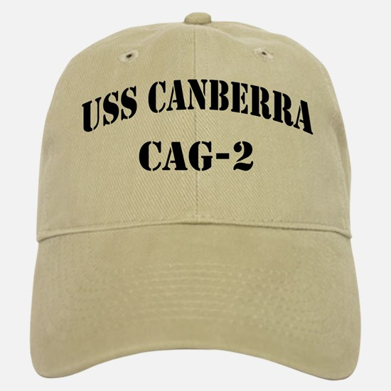 USS CANBERRA Baseball Baseball Cap