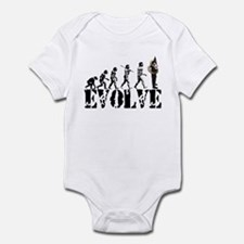 Tuba Sousaphone Evolution Infant Bodysuit