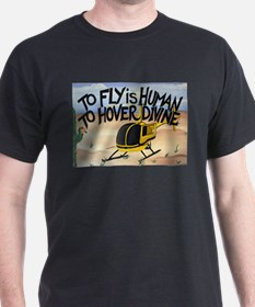 Helicopter in Desert T-Shirt