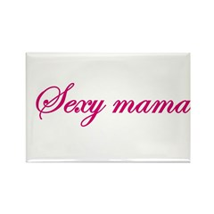 Sexy Mama Rectangle Magnet
