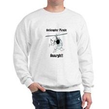 Helicopter Pirate Pilot Sweatshirt