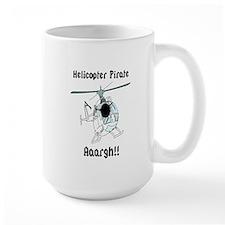 Helicopter Pirate Pilot Mug