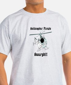 Helicopter Pirate Pilot T-Shirt