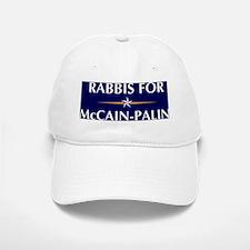 RABBIS for McCain-Palin Baseball Baseball Cap