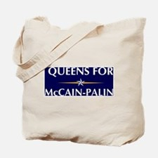 QUEENS for McCain-Palin Tote Bag