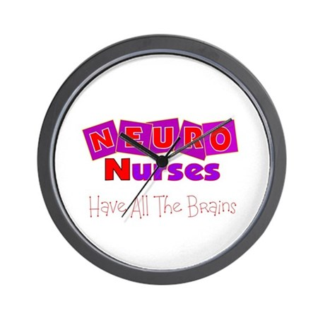 More Nurse Wall Clock