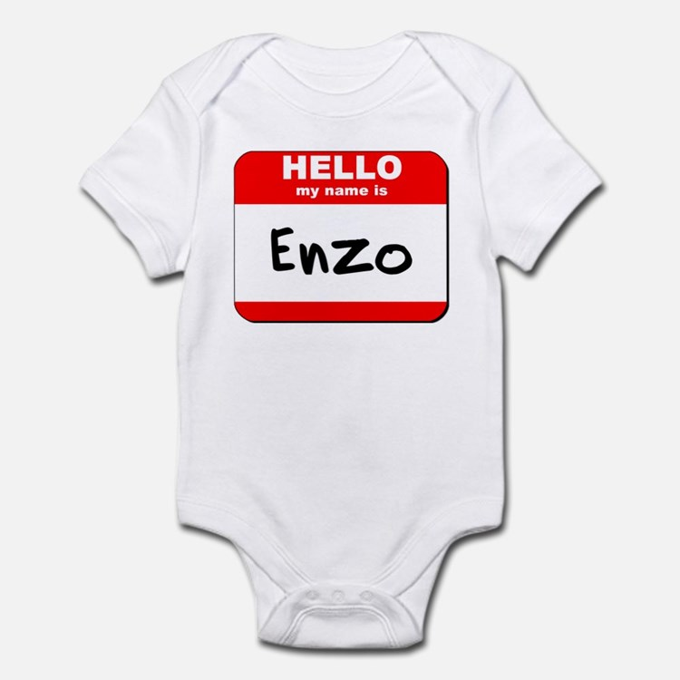 Hello my name is Enzo Onesie