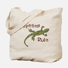 Reptiles Rule! Tote Bag
