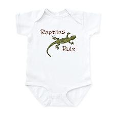 Reptiles Rule! Infant Bodysuit
