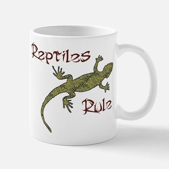 Reptiles Rule! Mug