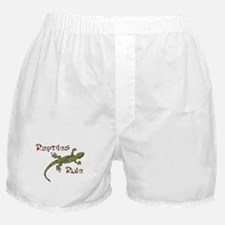 Reptiles Rule! Boxer Shorts