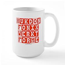 Hukd on Fonix Mug