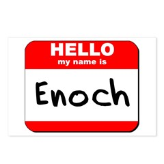 Hello my name is Enoch Postcards (Package of 8)