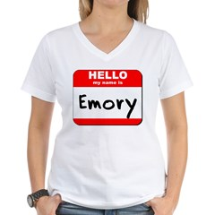 Hello my name is Emory Shirt