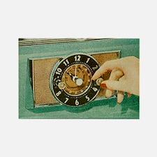 Oven Timer Rectangle Magnet