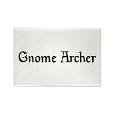 Gnome Archer Rectangle Magnet