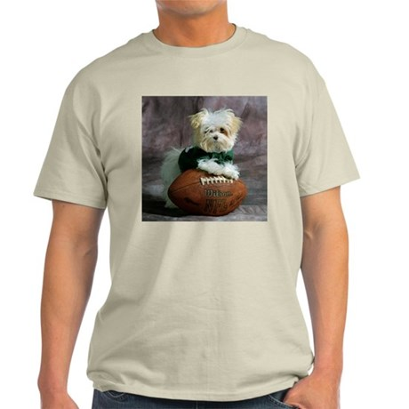 Cute Maltese Puppy Dog Ash Grey T-Shirt