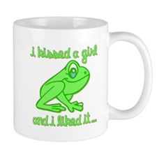 I Kissed A Girl And I Liked It Small Mug