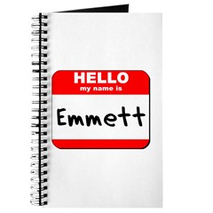 Hello my name is Emmett Journal