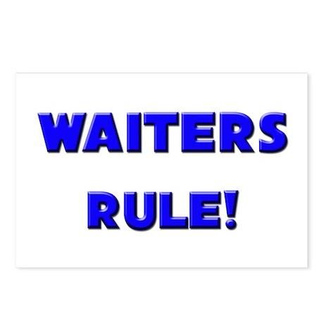 Waiters Rule! Postcards (Package of 8)