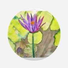 Water Lily Keepsake (Round)