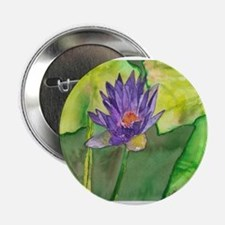 Water Lily II Button