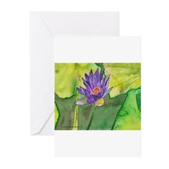 Water Lily II Greeting Cards (Pk of 10)