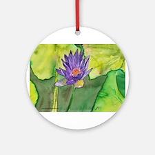 Water Lily II Keepsake (Round)