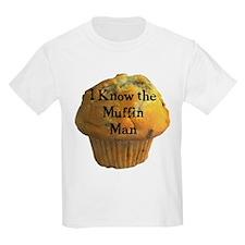 Muffin Man Kids T-Shirt