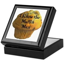 Muffin Man Keepsake Box