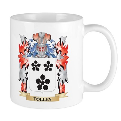 Tolley Coat of Arms - Family Crest Mugs