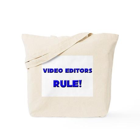 Video Editors Rule! Tote Bag