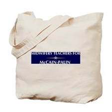 MIDWIFERY TEACHERS for McCain Tote Bag