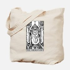 The Hierophant Tarot Card Tote Bag
