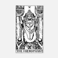The Hierophant Tarot Card Rectangle Decal
