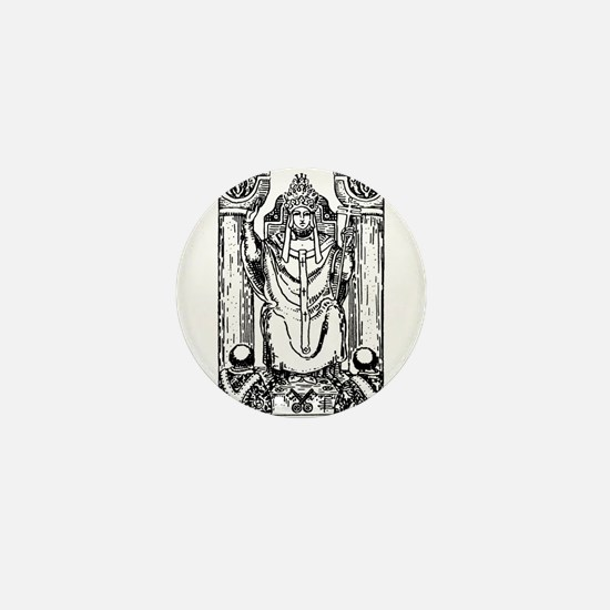 The Hierophant Tarot Card Mini Button