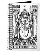 The Hierophant Tarot Card Journal