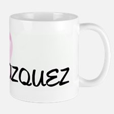 TEAM VAZQUEZ pink ribbon Mug