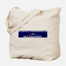 INSURANCE UNDERWRITERS for Mc Tote Bag